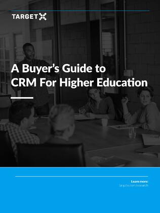 Buyer's Guide to CRM for Higher Education