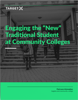 "Engaging the ""New"" Traditional Student at Community Colleges"